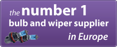 Number 1 bulb and wiper supplier in Europe